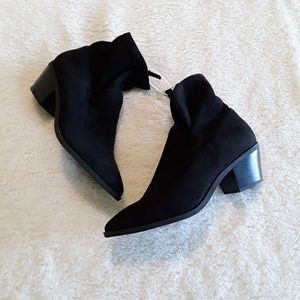 Abound Black Pointy Toe Booties